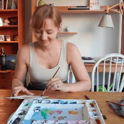 Artist Chelsea Baker