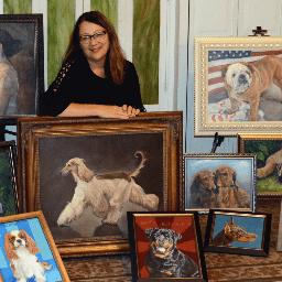 Artist Janet Alsup