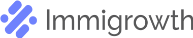Immigrowth logo black