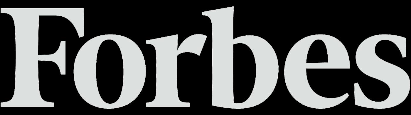 White Forbes logo