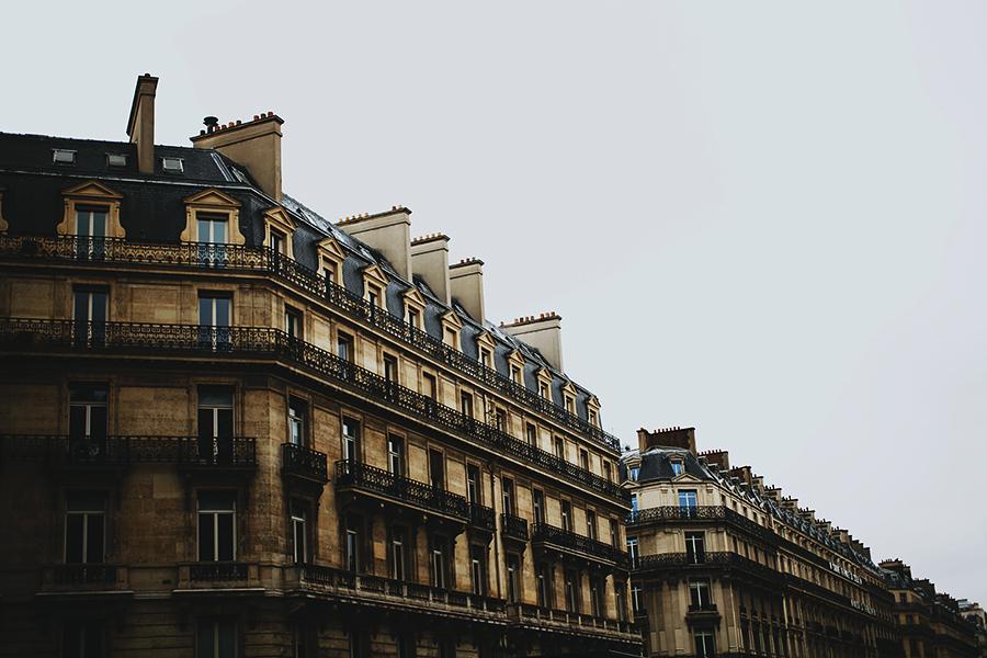 Old houses in Paris