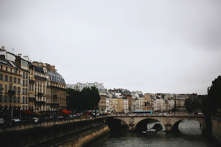 Old streets of Paris
