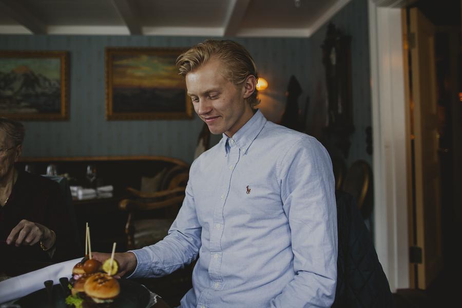 Blond haired boy in Mosjøen