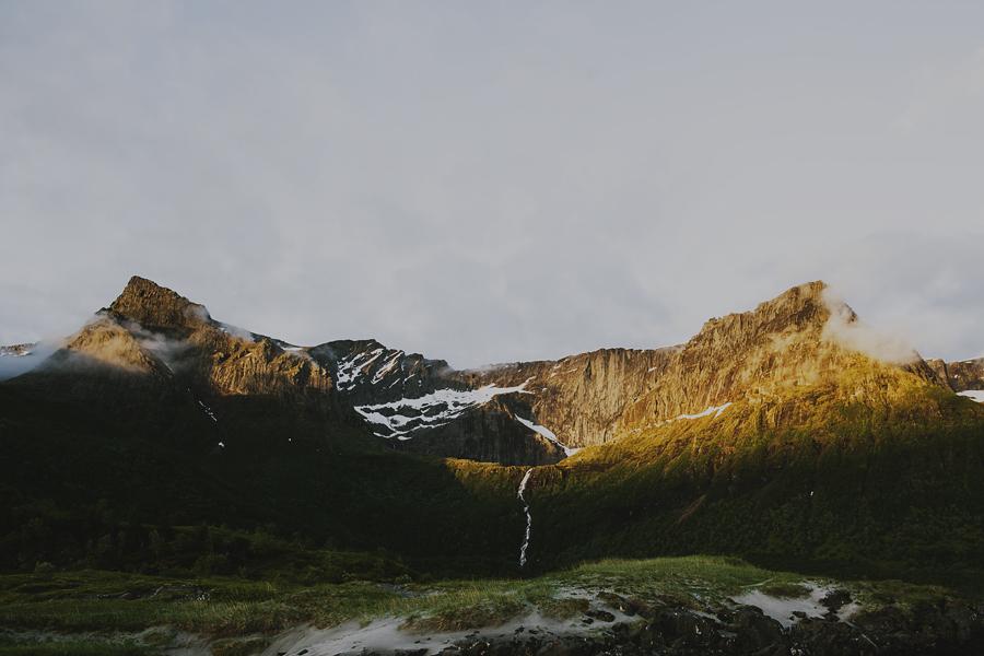 Mountains in Steigen