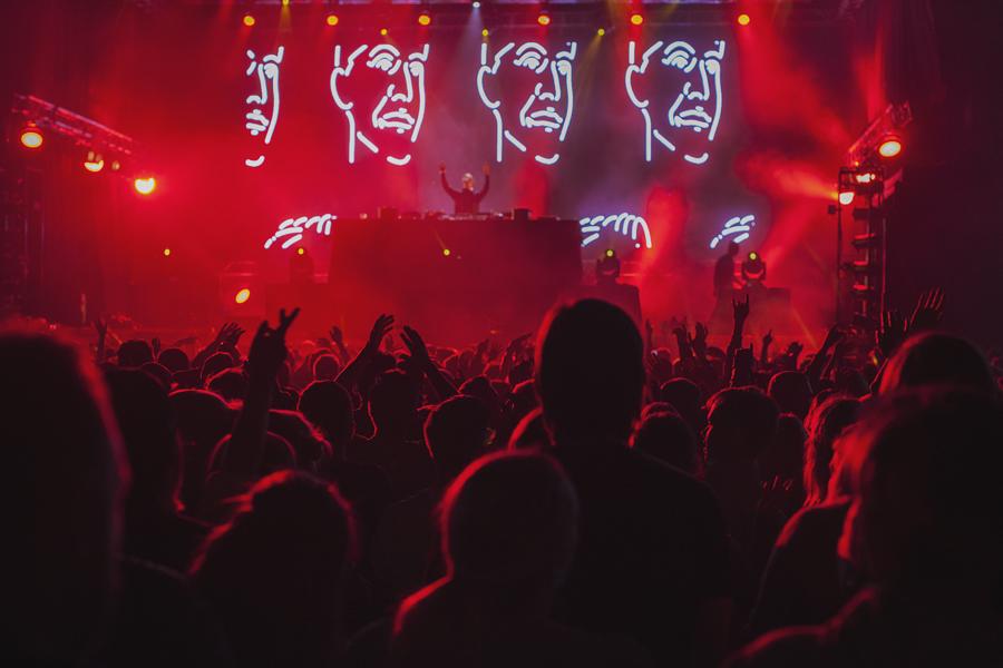 Concert feeling