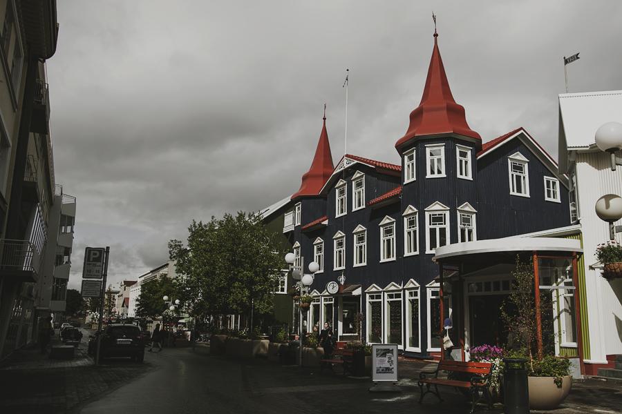 Street of Akureyri