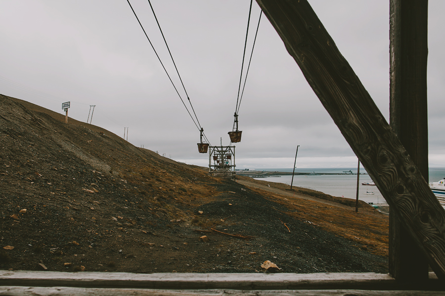 Cables in Svalbard
