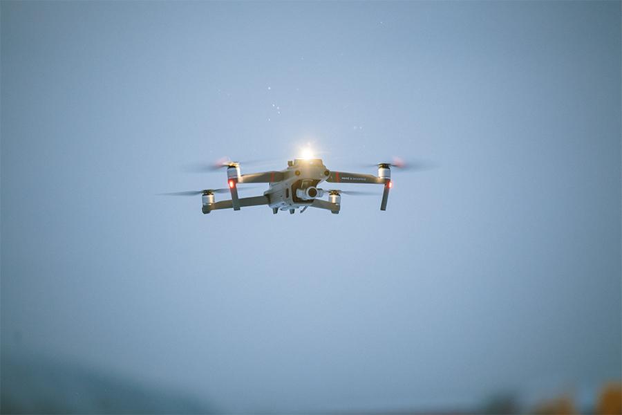 Mavic enterprise flying