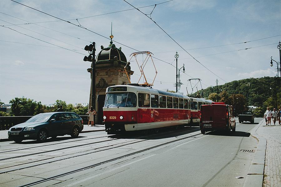 Traffic in Prague