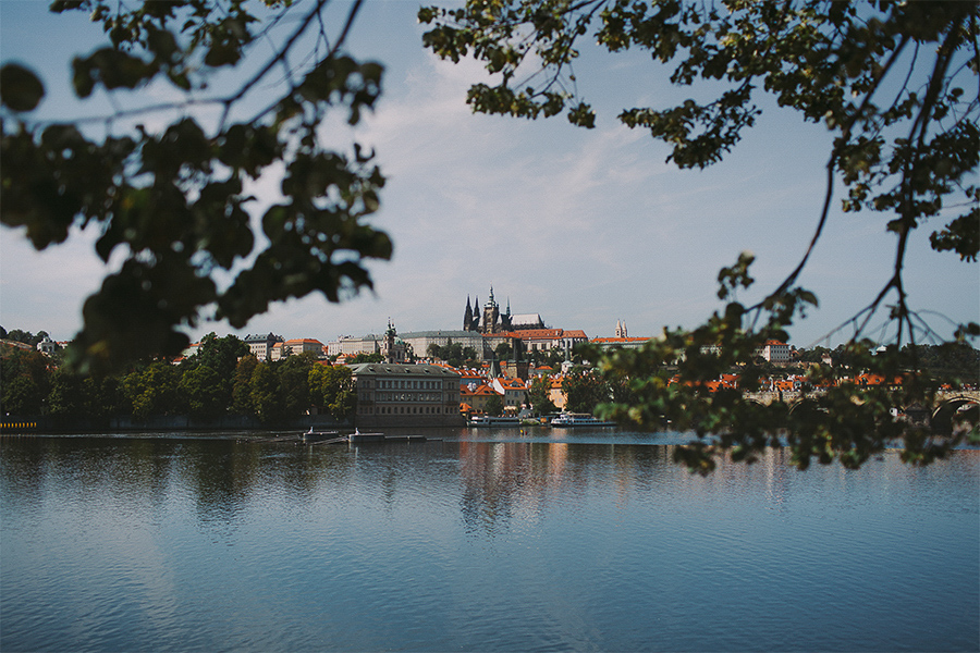 View of the Castle in Prague