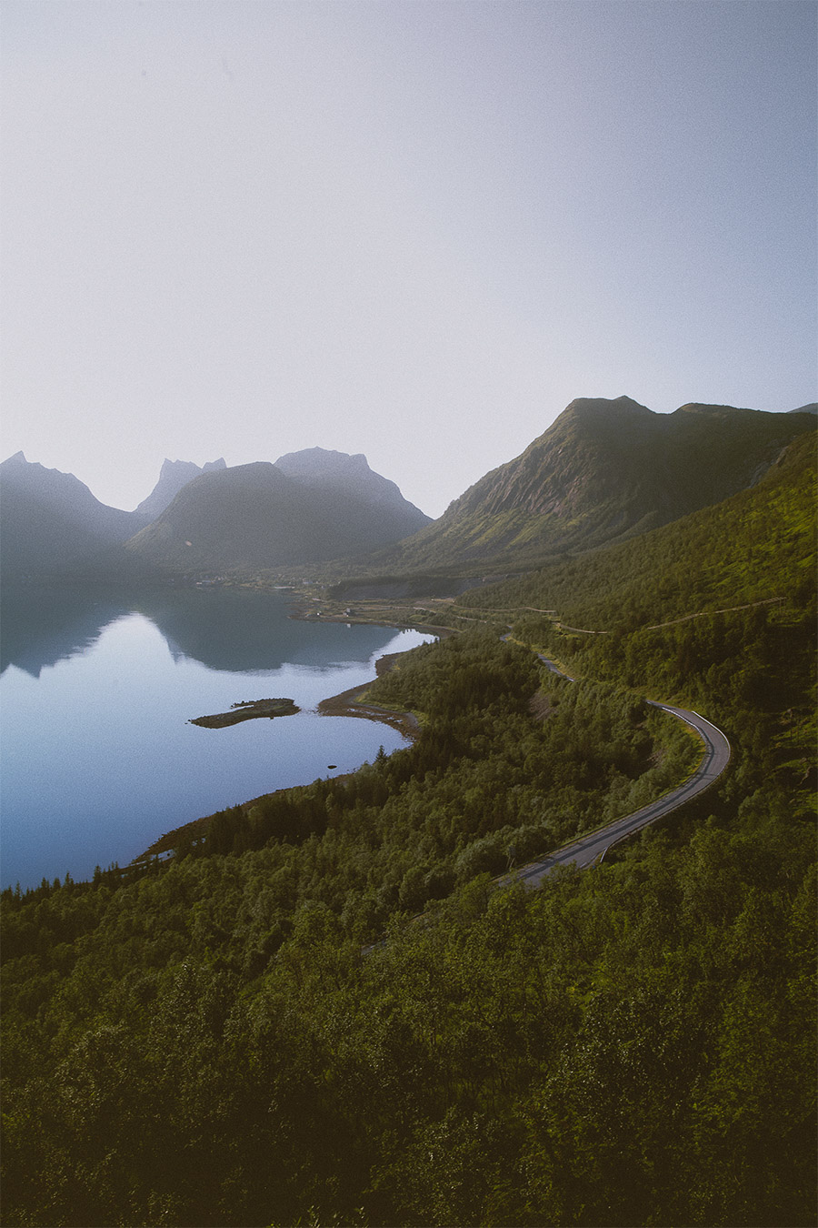 Windy roads of Senja