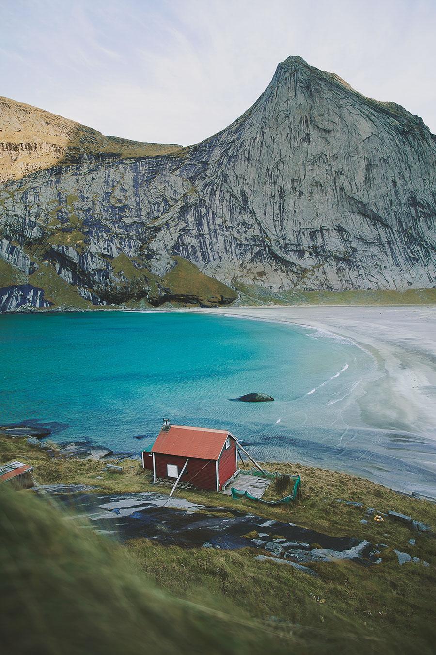 Bunes beach in Lofoten