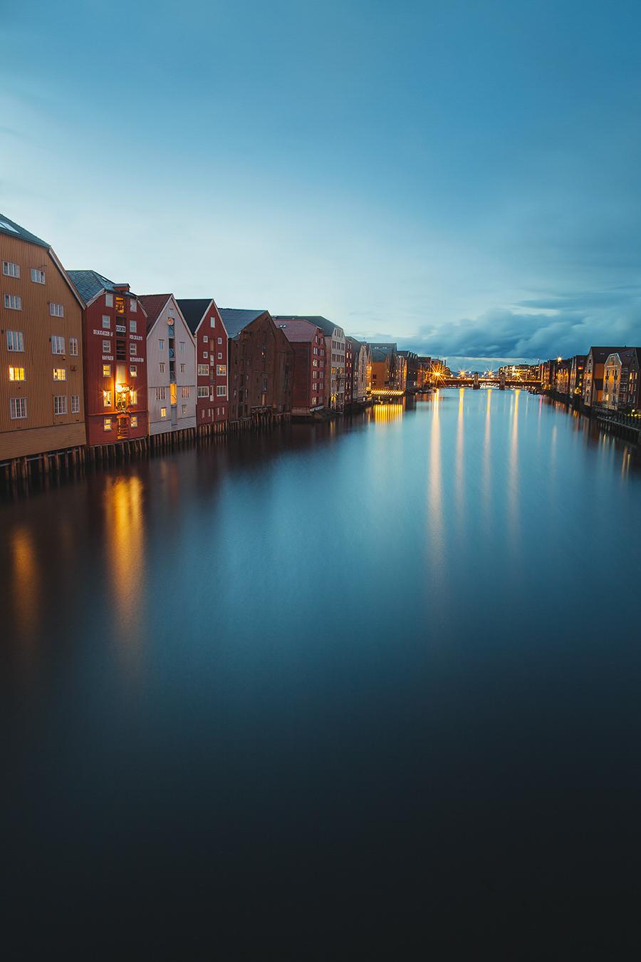 Bakklandet - the old town of Trondheim