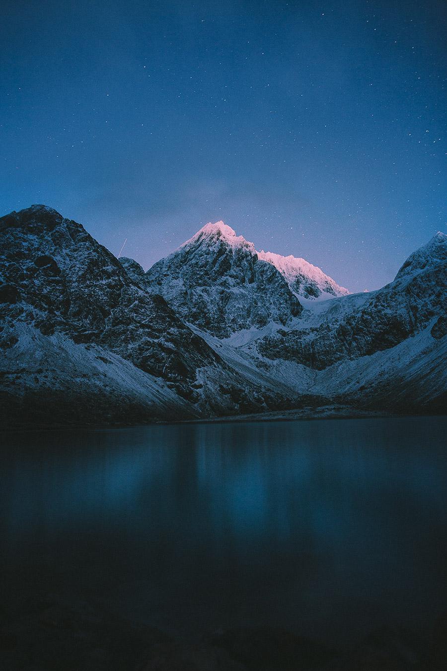 Peaks of Lyngen