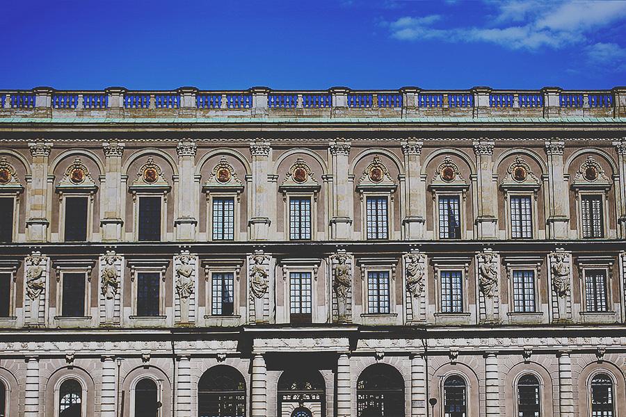 The royal Swedish castle