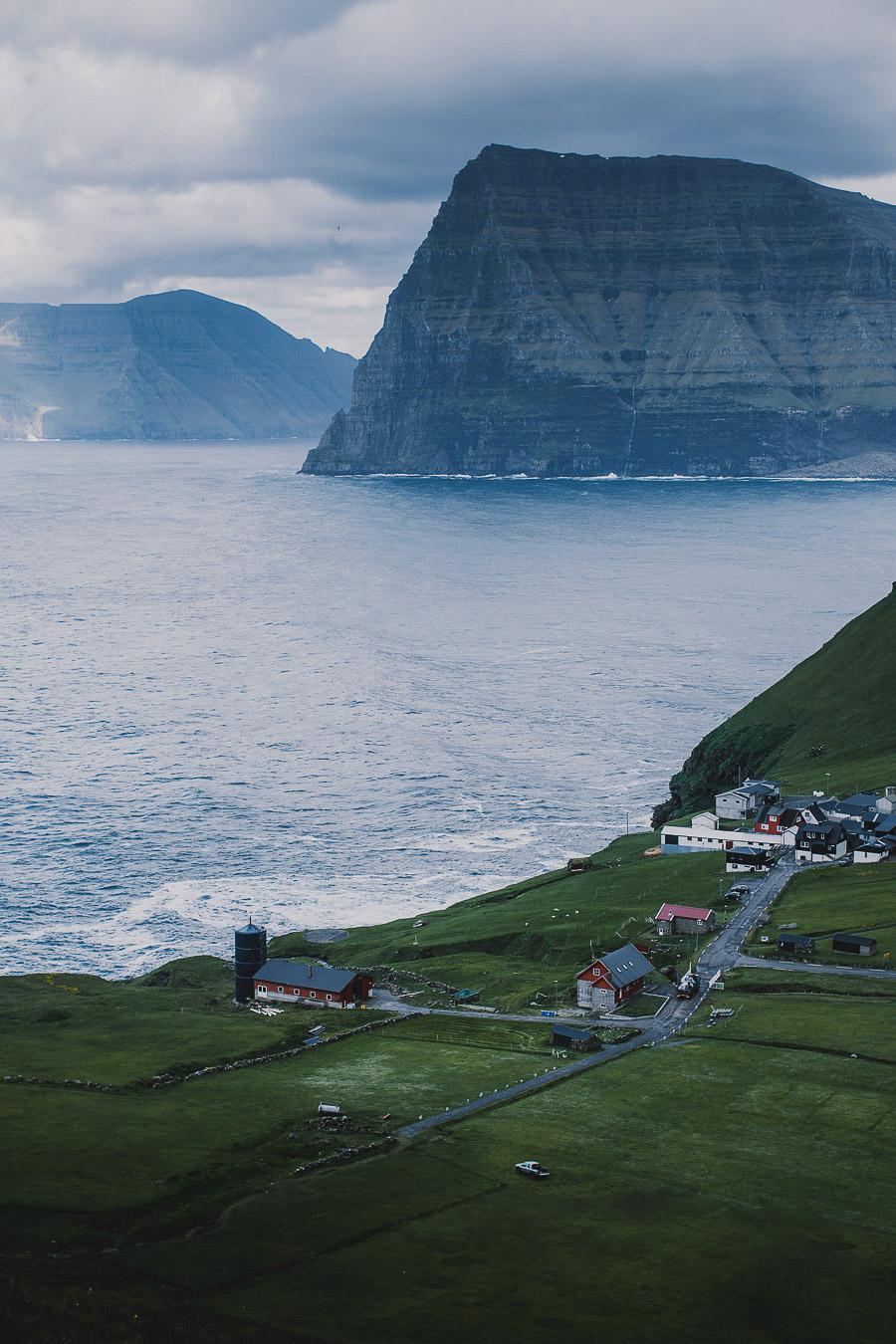 Small village of Faroe Islands