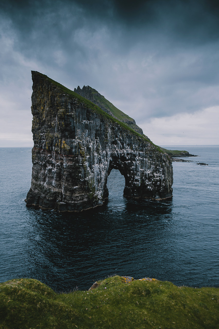 Drangarnir arche of Faroe Islands
