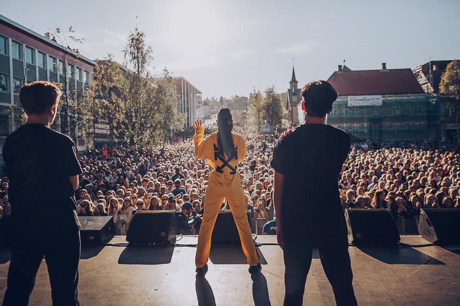 Concert at VG lista in Tromsø