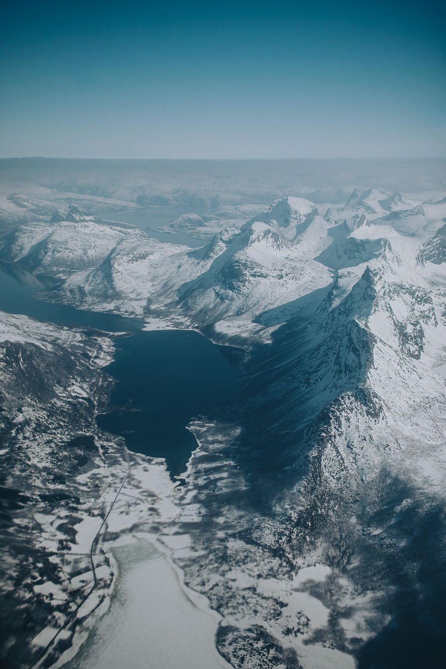 Norway seen from the air