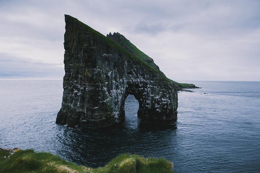 Drangarnir arch in Faroe Islands