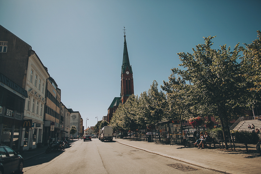 Streets of Arendal city