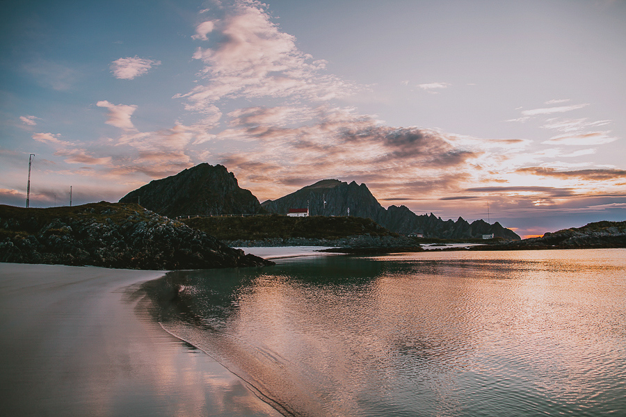 Sunset in Andøya