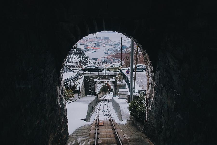 Fløyenbanen i Bergen