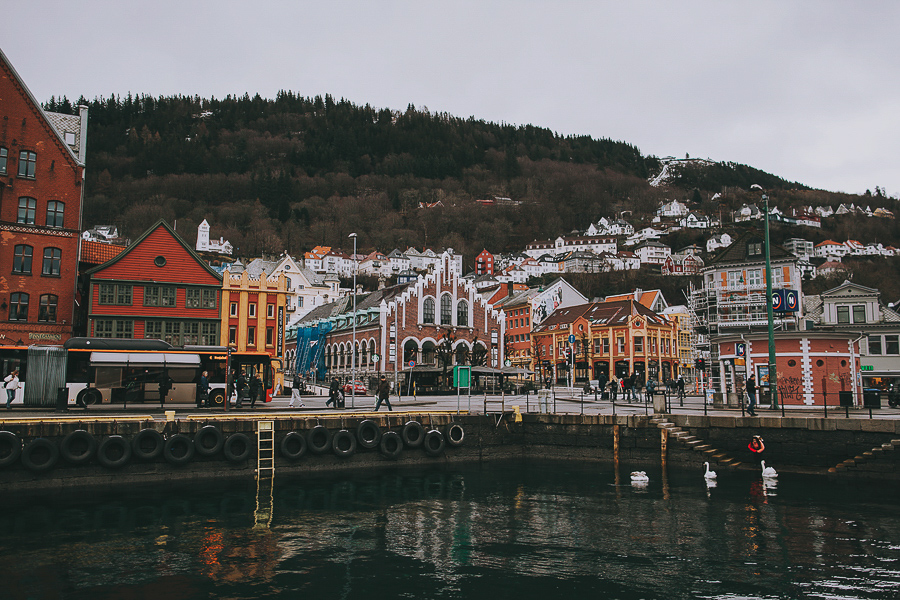 Colurful houses of Bergen
