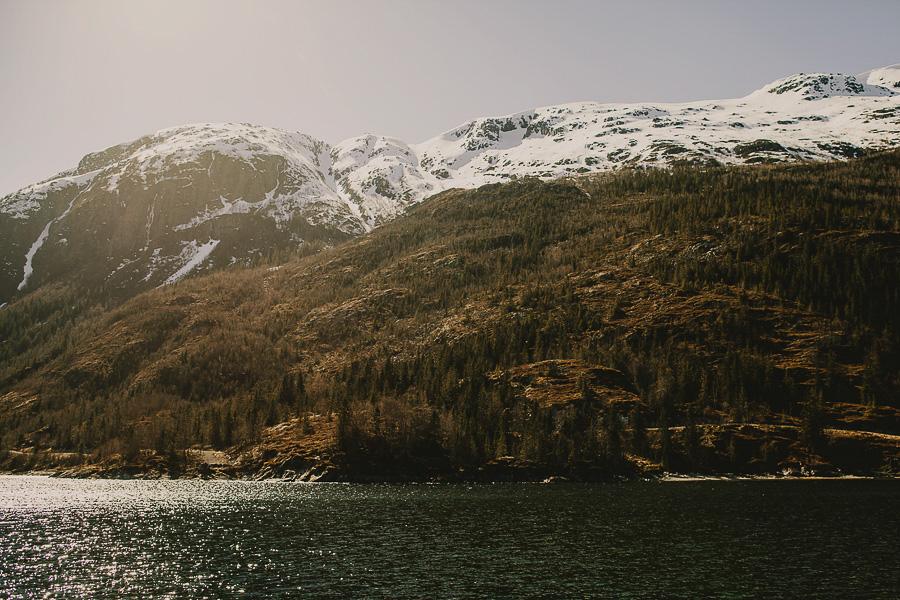 Mountains in Mosjøen