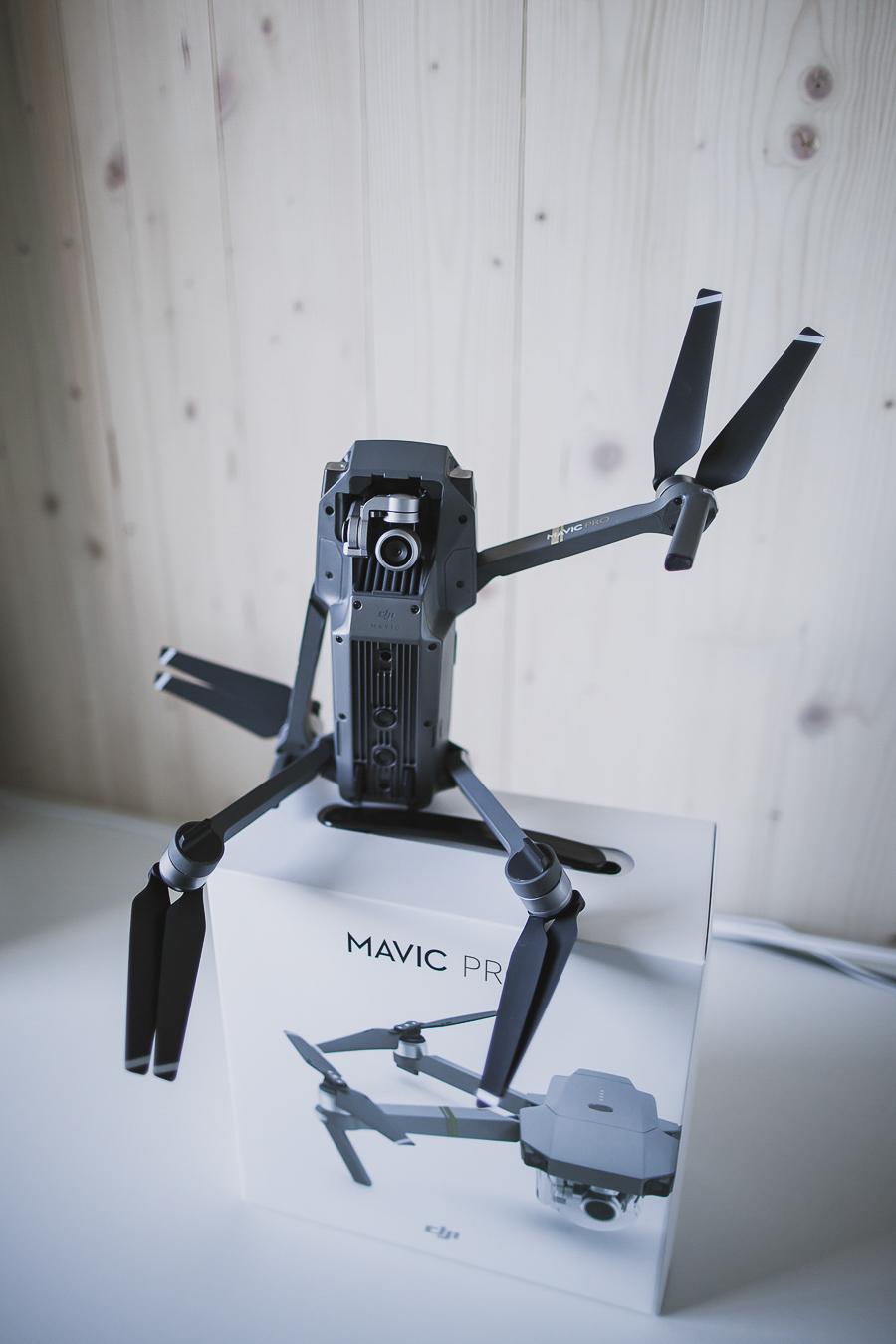 Drone waving