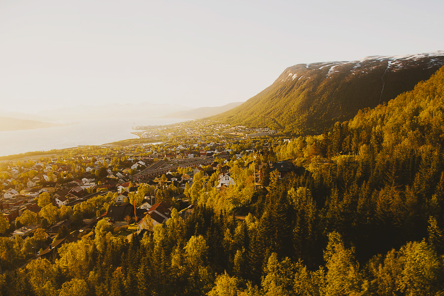Midnight sun in Tromsø