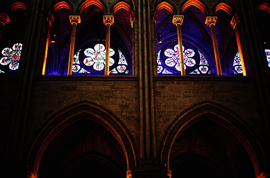 Windows in Notre Dame