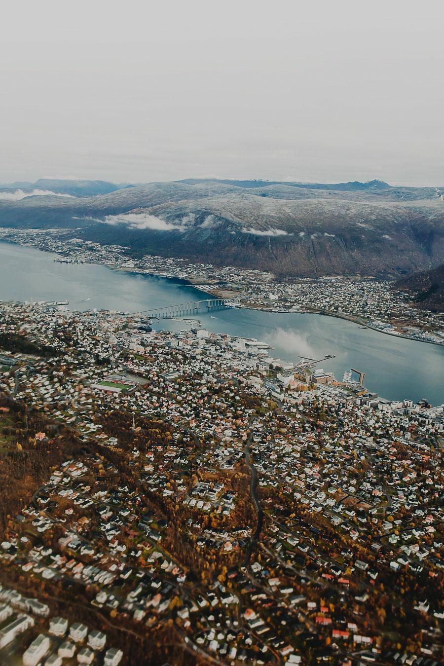 Tromsø from the air