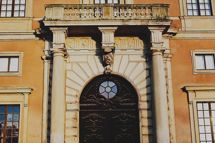 Doors of the royal castle