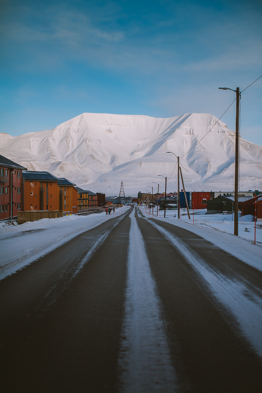 Main road on Svalbard