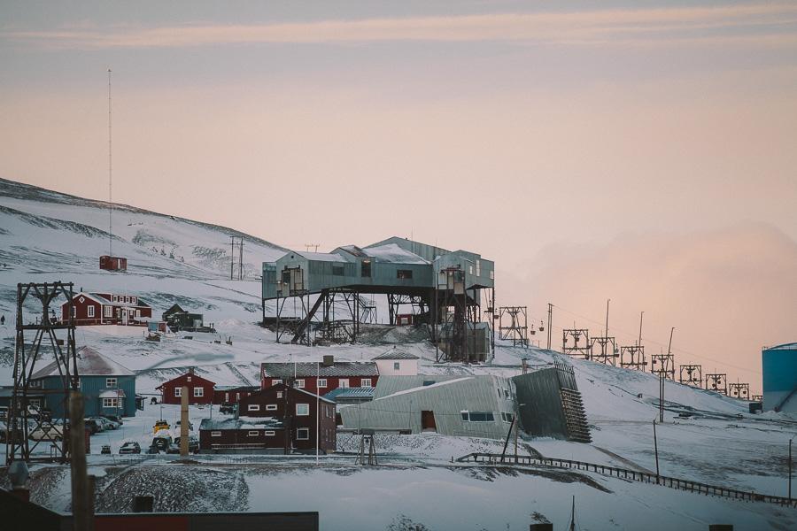 Longyearbyen on Svalbard