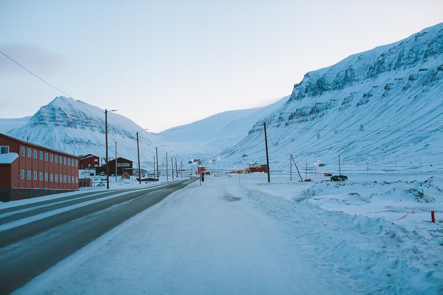 Roads of Longyearbyen