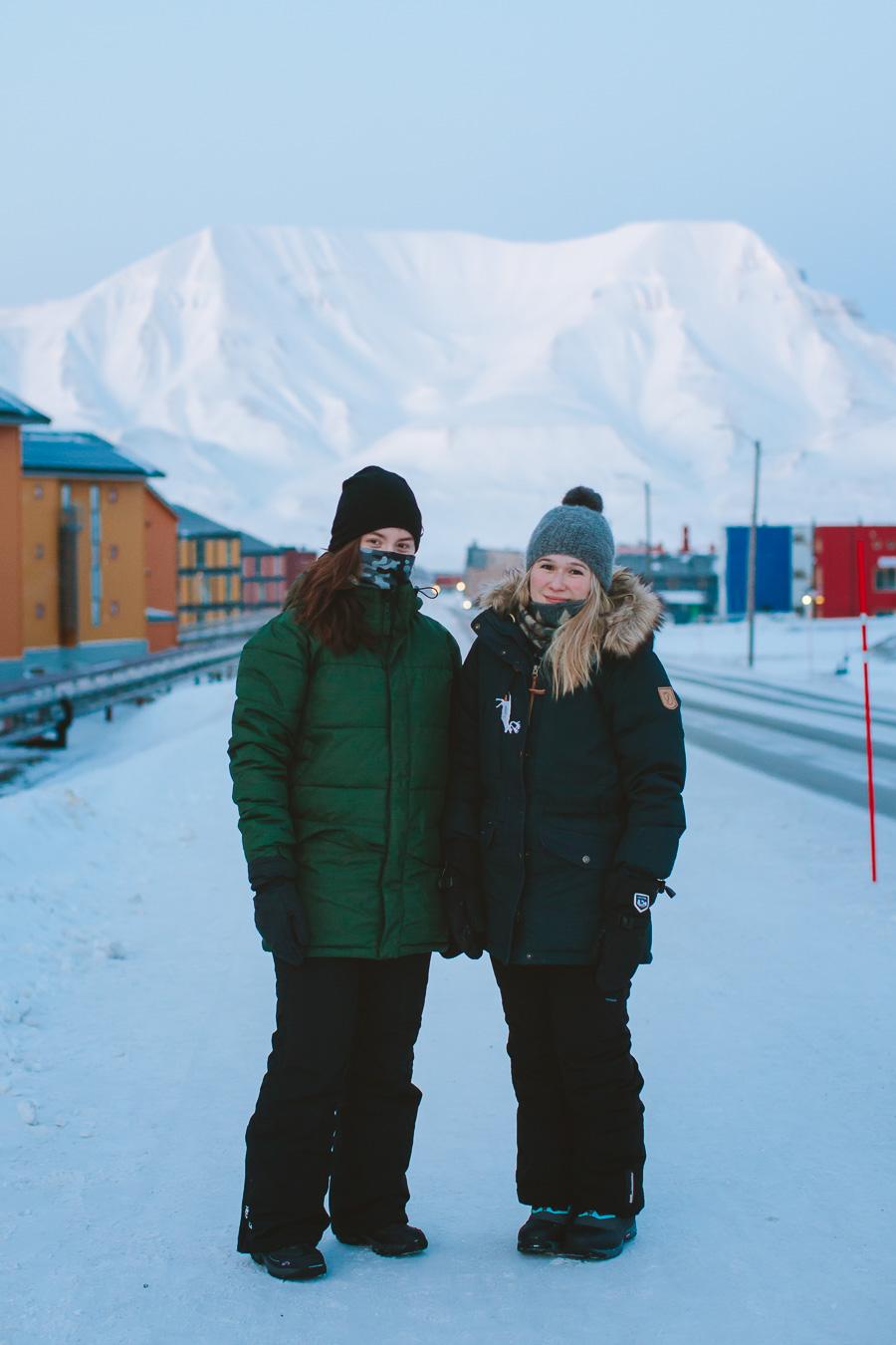 Friends in Longyearbyen