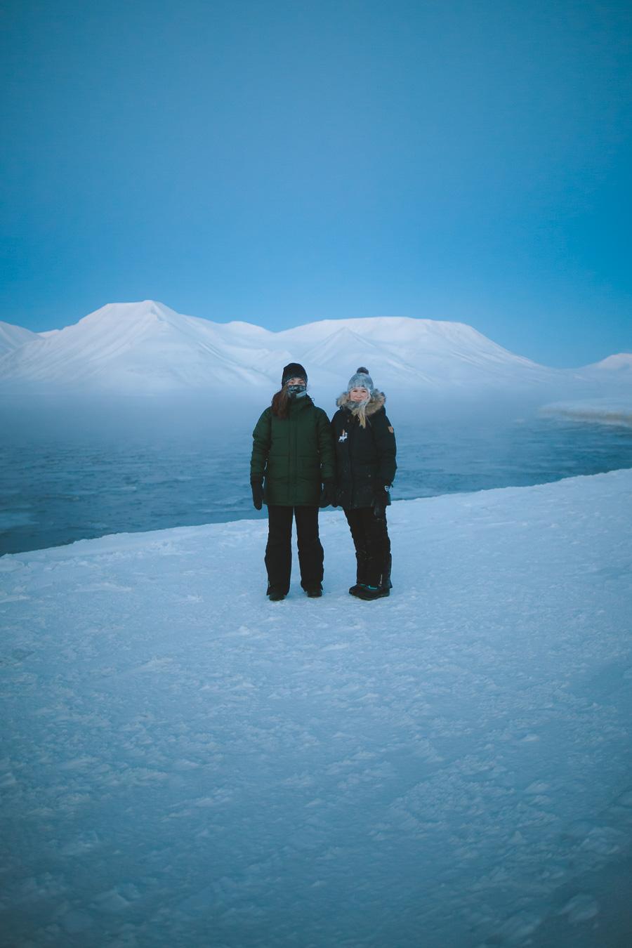 Girls in Longyearbyen