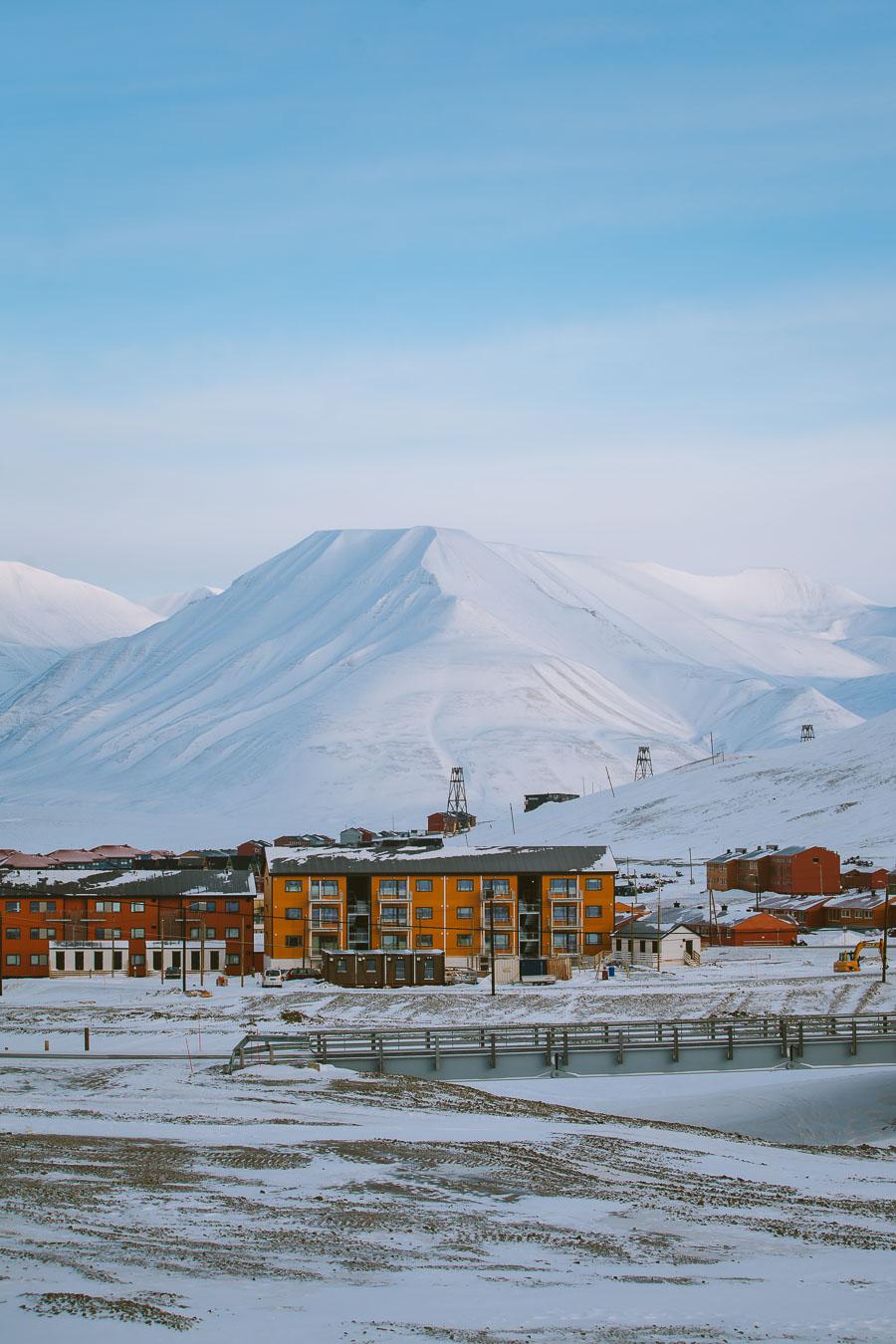 View of Longyearbyen