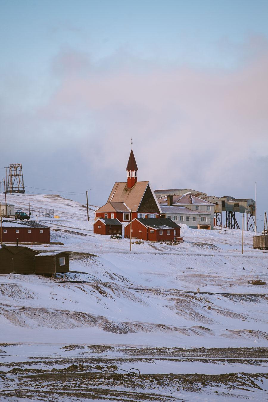 The church of Longyearbyen on Svalbard