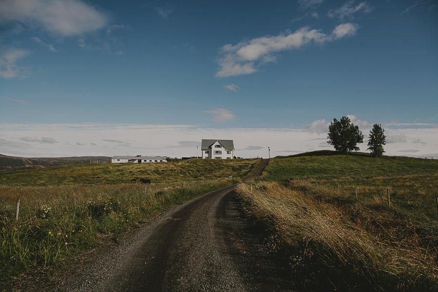 White house of Kjarnholt