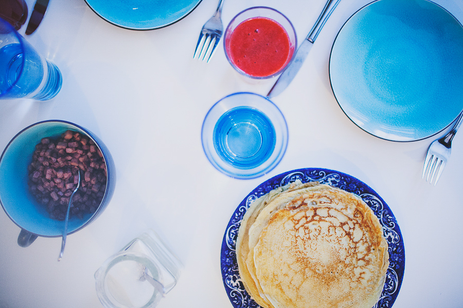 Lunch x Pancakes