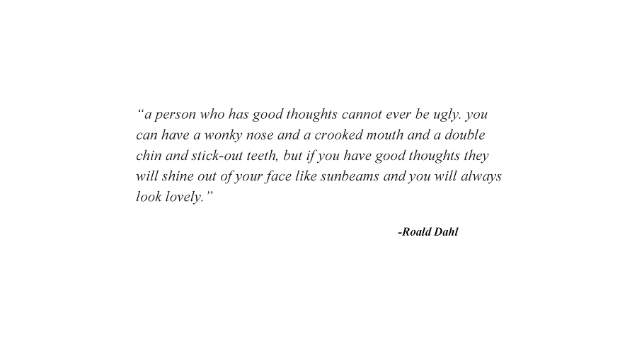 A person who has good thoughts