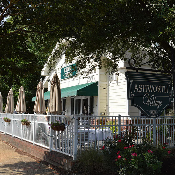Ashworth Village in downtown Cary.