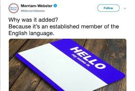 "Image result for merriam websiter ""they"""