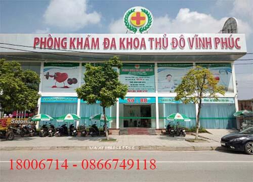 Phòng khám đa khoa thủ đô Vĩnh Phúc