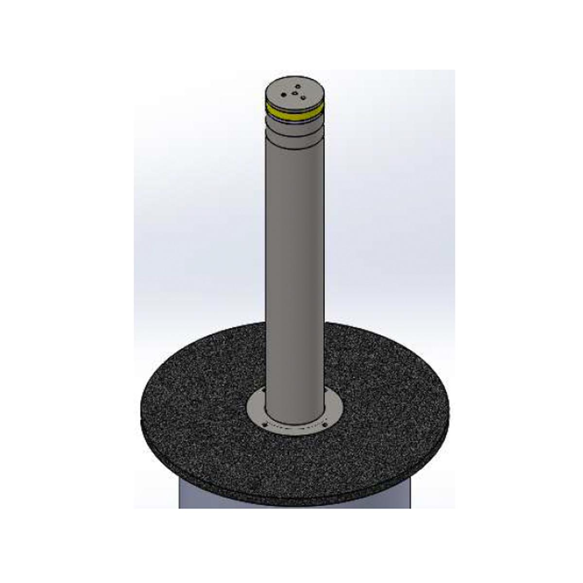 Energy Absorbing Bollard - Automatic Hydraulic