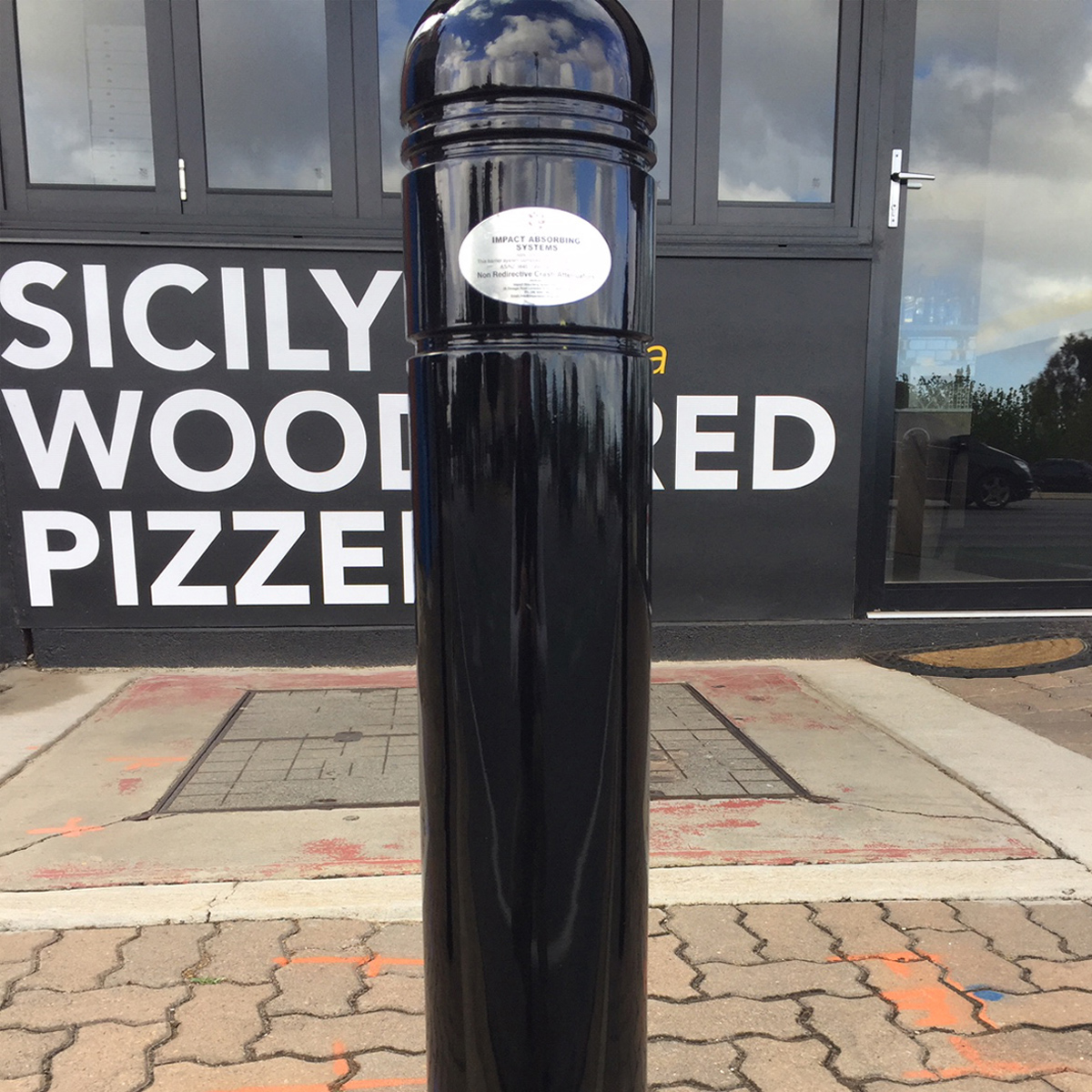 Energy Absorbing Bollards and Barriers