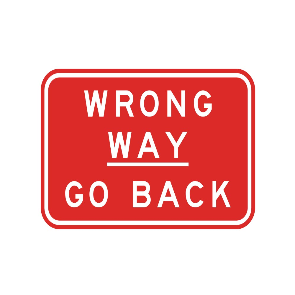 Wrong Way Go Back